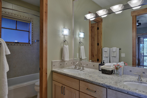 Tahoe Vacation Rentals - Lake Front House - Master Bath 2