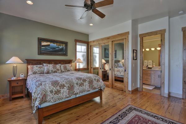 Tahoe Vacation Rentals - Lake Front House -Master Bedroom 2