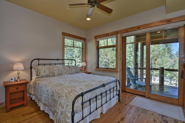 Tahoe Vacation Rentals - Lake Front House -Master Bedroom 3