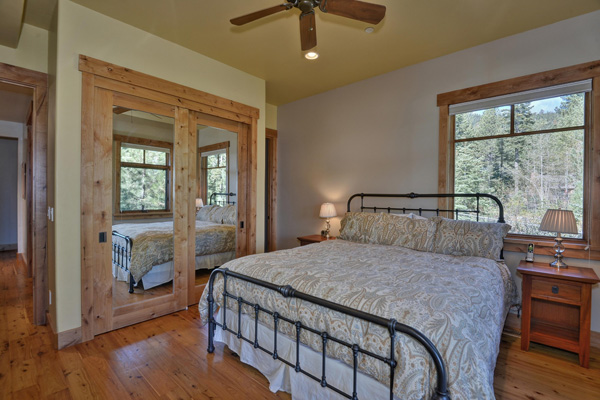 Tahoe Vacation Rentals - Lake Front House - Master Bedroom 3