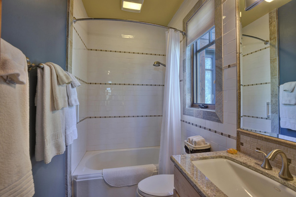 Tahoe Vacation Rentals - Lake Front House - Master Bath 3