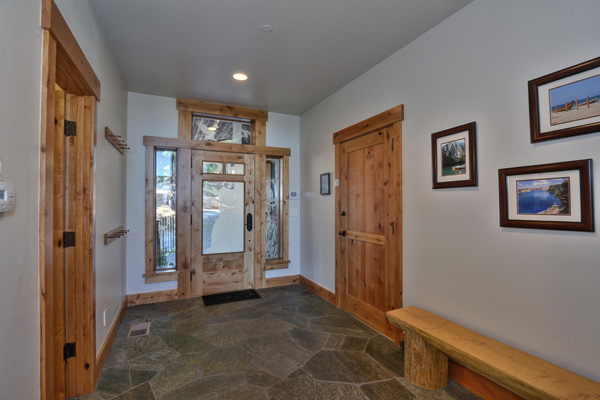 Tahoe Vacation Rentals - Lake Front House - Entry Foyer