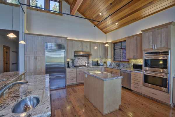 Tahoe Vacation Rentals - Lake Front House - Kitchen